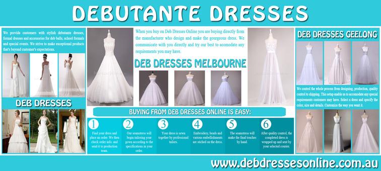 Deb Dresses Ballarat