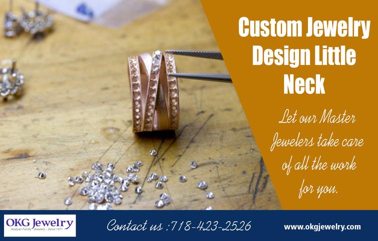 Custom jewelry design little neck