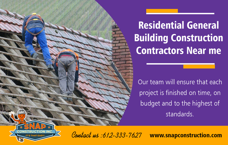 Residential General Building Construction Contractors Near M