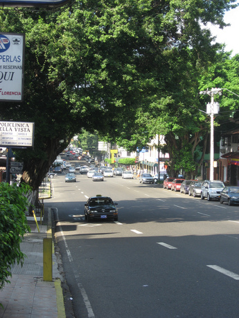 Steets of Panama City