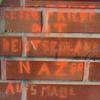 No peace with GermanyKein Friede mit DeutschlandNazis auf's Maul