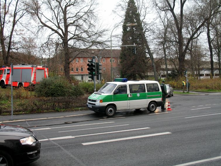 Gas-Unfall in Würzburg