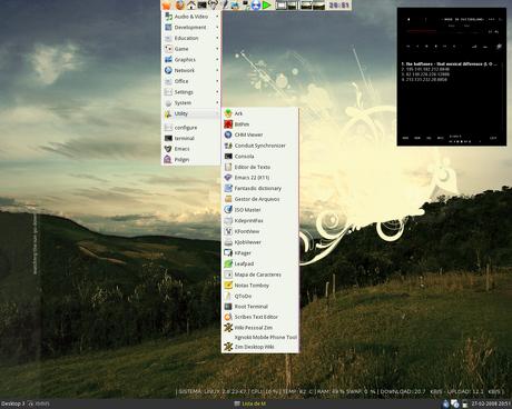 desktop linux gnu/linux debian openbox wallpaper ícone