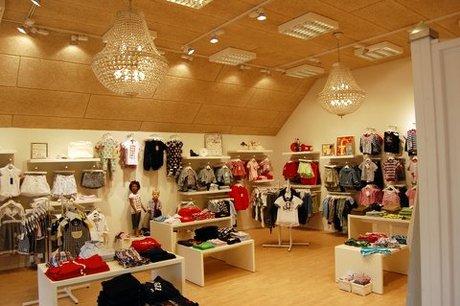 Butikslokalet i Den Lille Drøm.