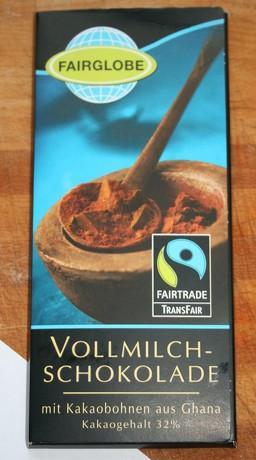milk chocolate - SHF - front