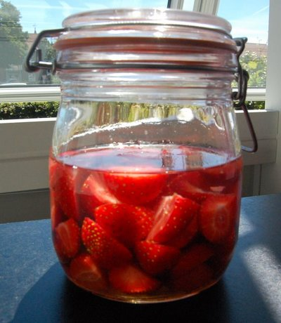 Jordbærsnaps