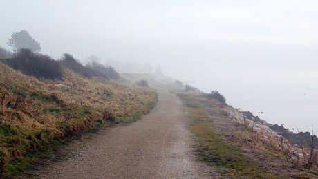 En mystisk rute ud i det grå.