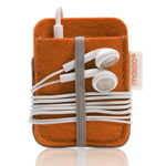 iPod -omme i orange filt