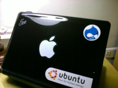 My new Eee PC powered by Ubuntu