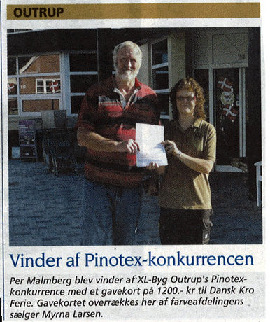 Sussi og Michael Ancher-fisker deler et stykke papir