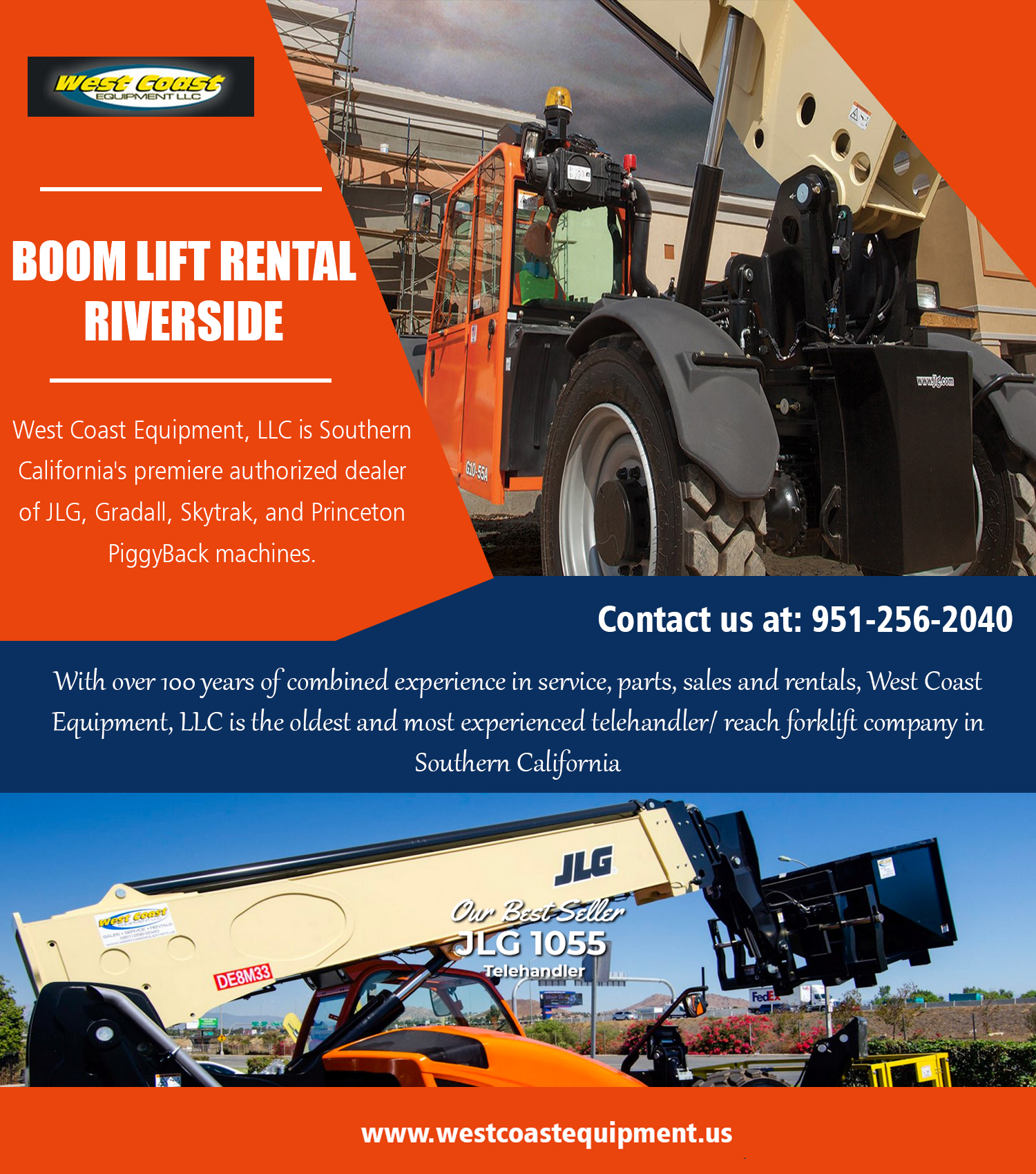 Boom Lift Rental in Riverside – Reach Forklift Rental Los Angeles