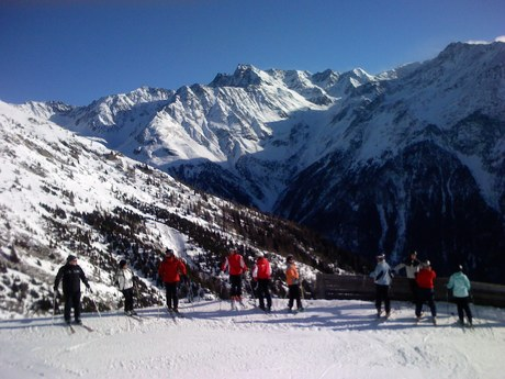 Skiing Sölden Austria