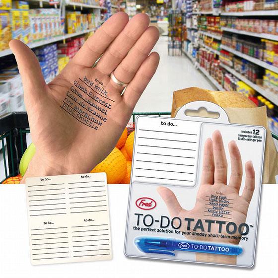 tattoo bic escrever mão lembrete caneta