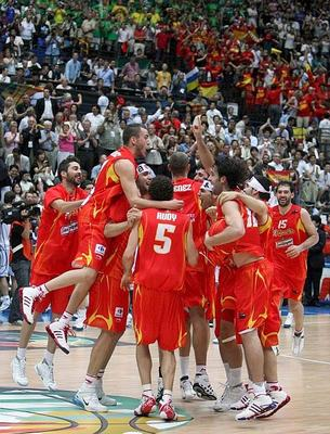 España mundobasket Xapón 2006