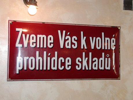 tjekkisk skilt