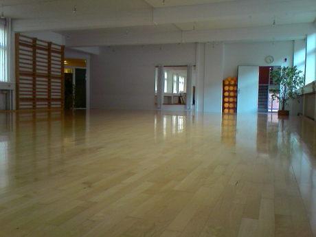 Gotvedskolen - gymnastiksalen i Sommerstedgade