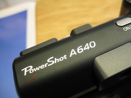 Mit nye kamera: Canon PowerShot A640