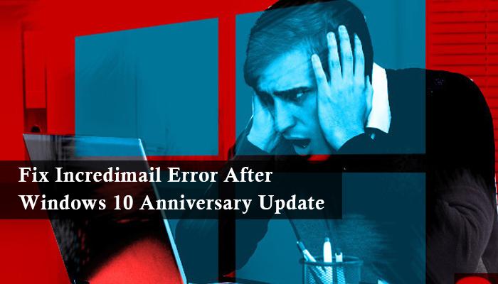 Fix Incredimail Error